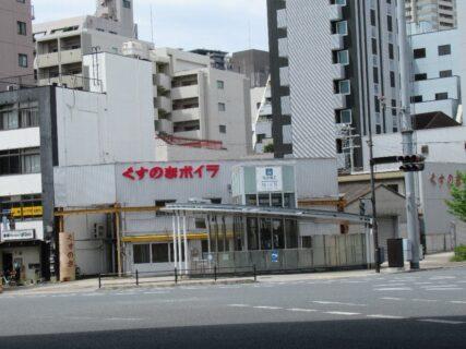 汐見橋交差点の、くすのきボイラ。