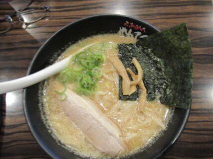 らーめんがんてつ道の駅奈井江店の、豚骨味噌ラーメン。