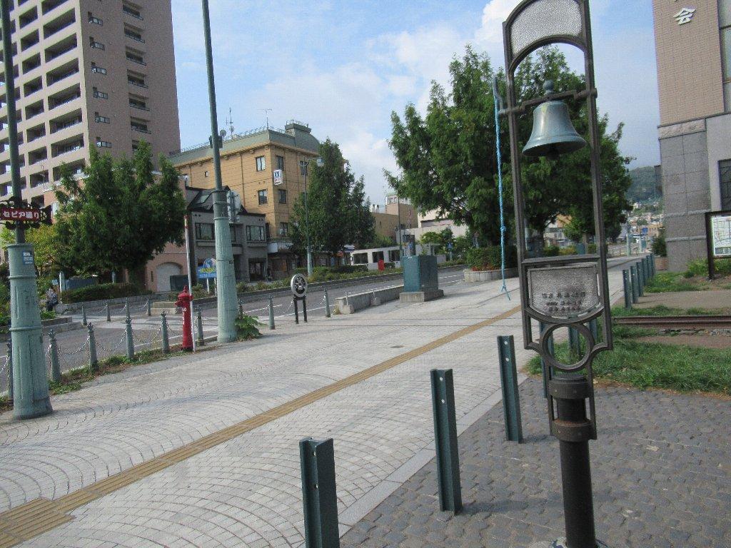 旧手宮線跡地は散策路として整備され、観光名所になっている。