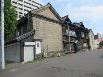 小樽市色内周辺の歴史的建造物でございます。