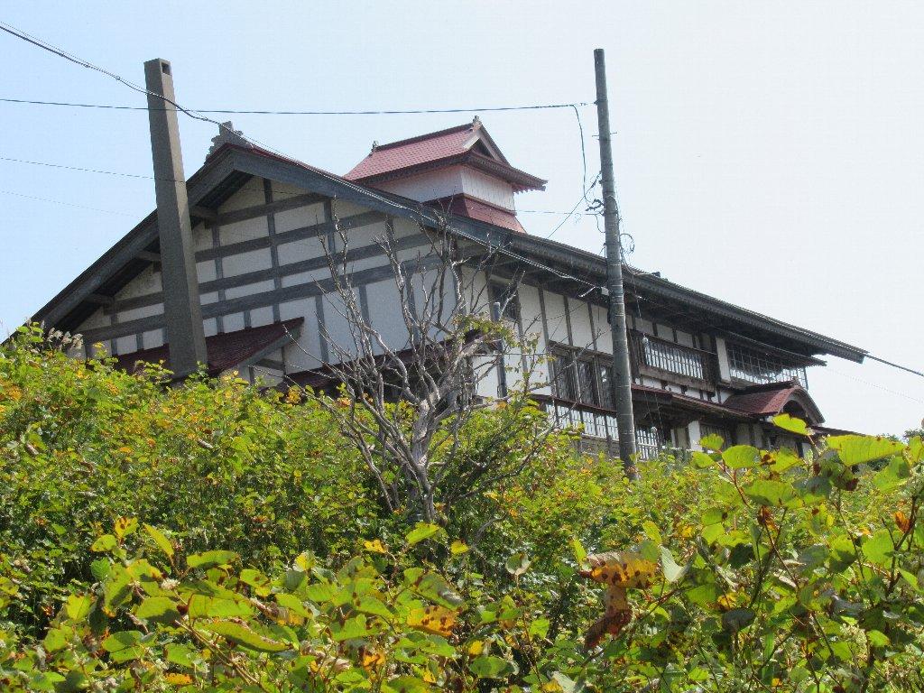 積丹の泊村から移設された、小樽市鰊御殿。