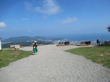 小樽天狗山、山頂からの眺めも素晴らしいですな。