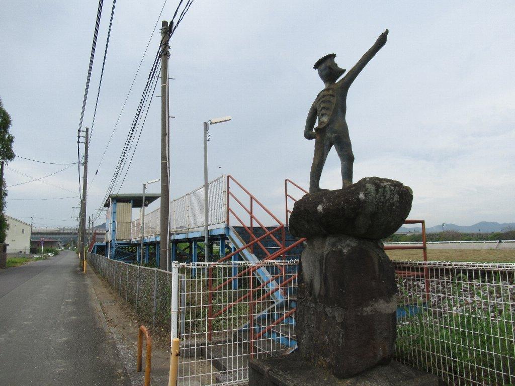 今川河童駅は、福岡県行橋市大字流末にある平成筑豊鉄道田川線の駅。
