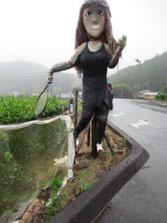 日本一短いトンネルの案内人がw