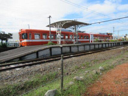 岳南江尾駅は、静岡県富士市江尾にある、岳南電車岳南線の駅。