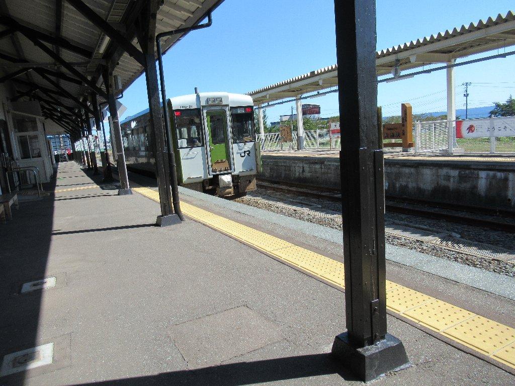 大湊駅は、青森県むつ市大湊新町にある、JR東日本大湊線の駅。