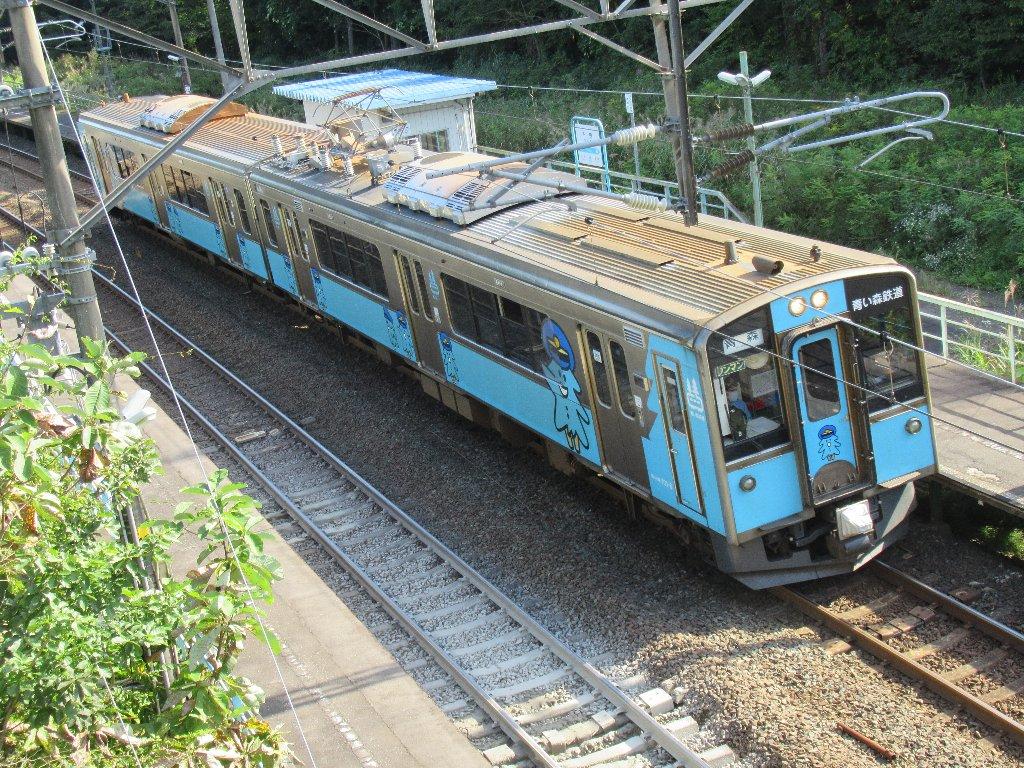 千曳駅は、青森県上北郡東北町字千曳にある、青い森鉄道の駅。