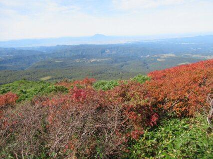 八甲田ロープウェイ山頂公園駅からの眺望。