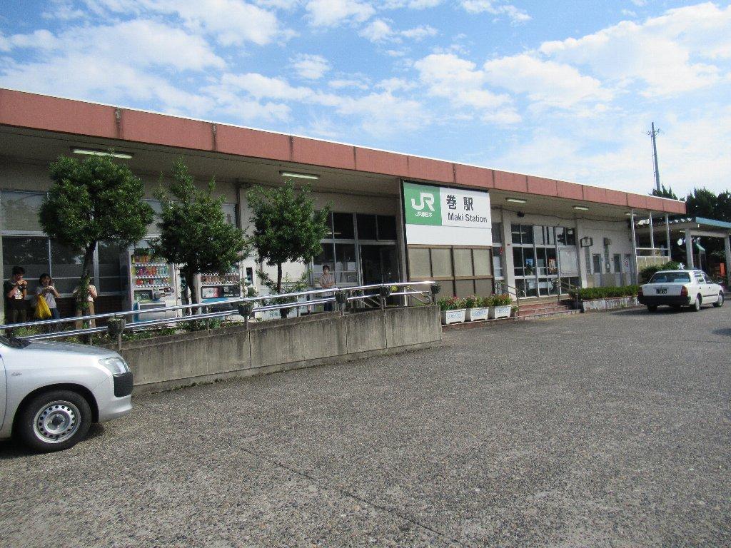 巻駅は、新潟市西蒲区巻甲にある、JR東日本越後線の駅。