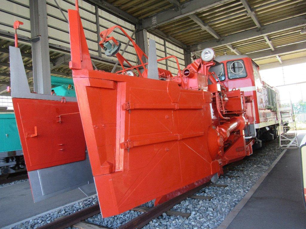 国鉄DD14 形式液体式ディーゼル機関車332号機。