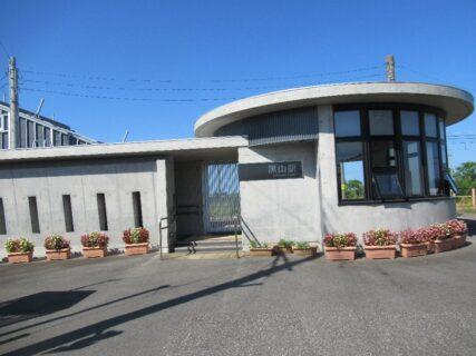 黒山駅は、新潟市北区太田にある、JR東日本・JR貨物白新線の駅。