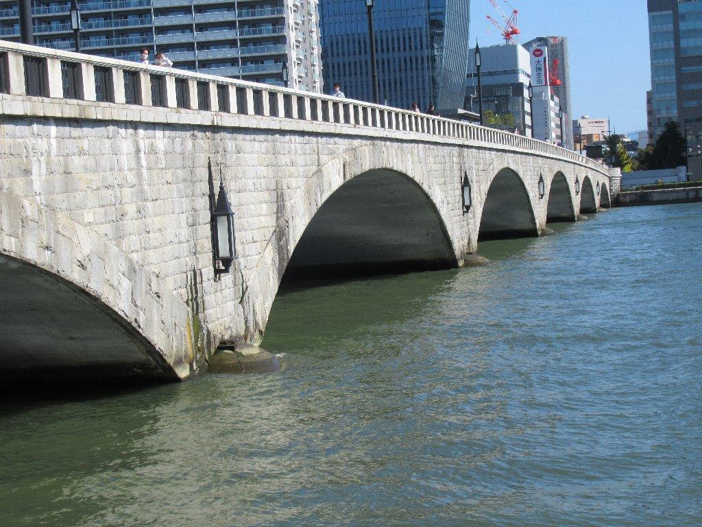 新潟市のランドマークの1つ、萬代橋。