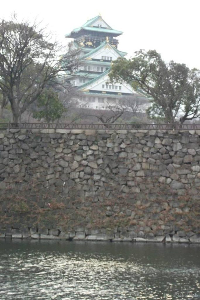 大阪城は入ったの初めてやった