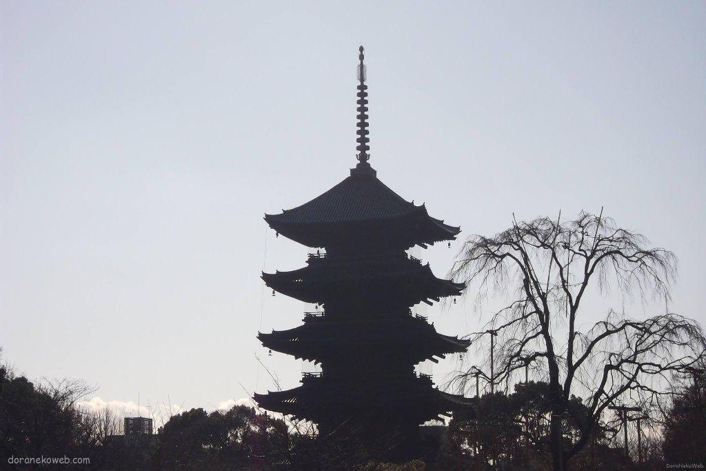 東寺に寄って行こう
