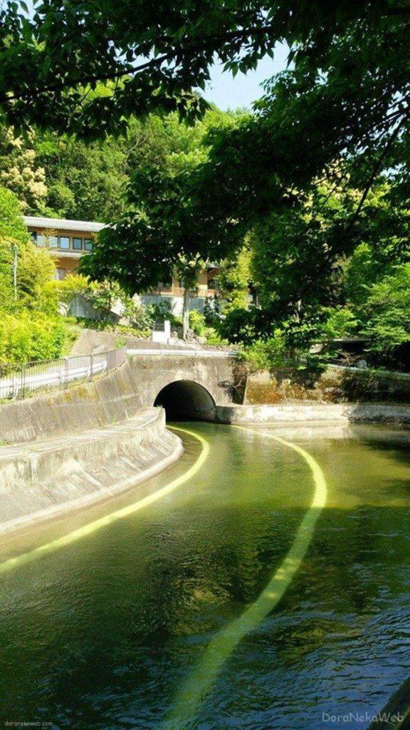山科の琵琶湖疏水の道ぃ
