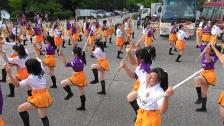 「紫の悪魔」西京極マーチングショー