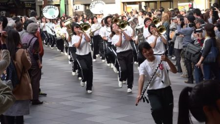 第14回京都さくらパレード 街頭パレード