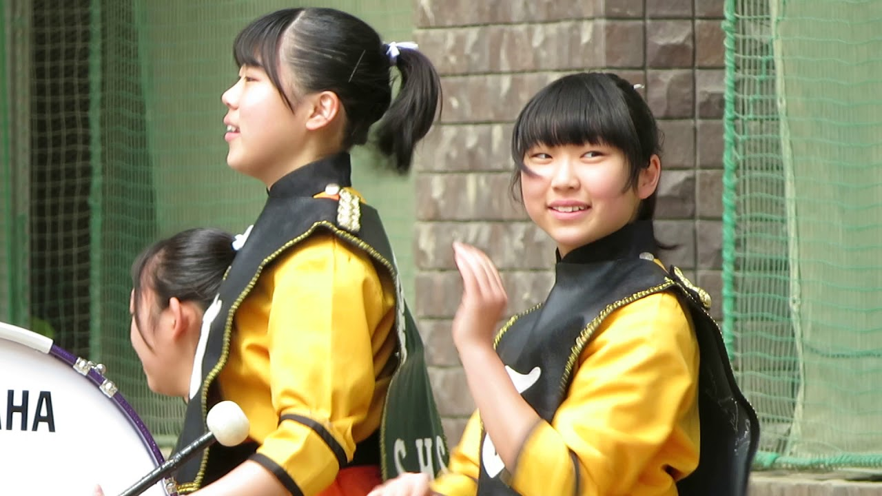 2019京都さくらパレード 交歓コンサート パーカス隊