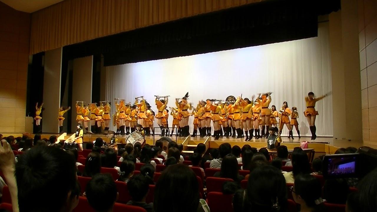 ドリームスクール吹奏楽部歓迎演奏