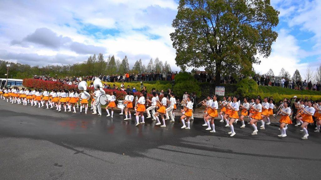 ブルーメの丘パレード2018