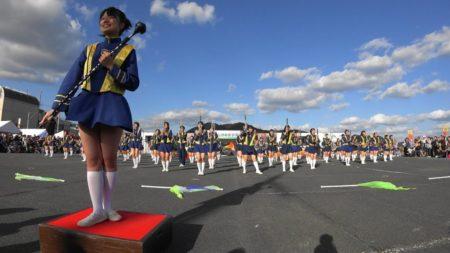 第34回大江山酒呑童子祭りマーチングドリル