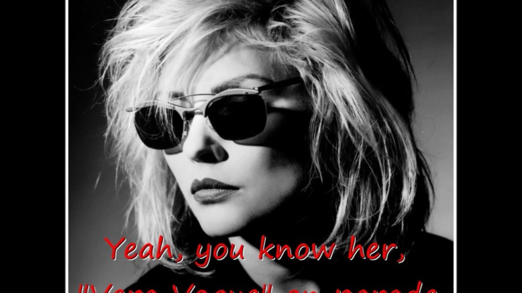 Blondie – Rip Her To Shreds