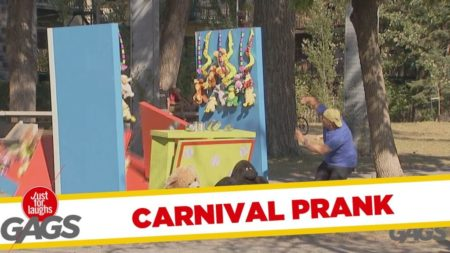 Carnival Stand Falls Over
