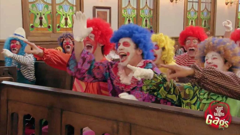 Clown Funeral Prank