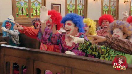Clown Funeral Prank