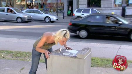 Crazy Water Fountain Prank