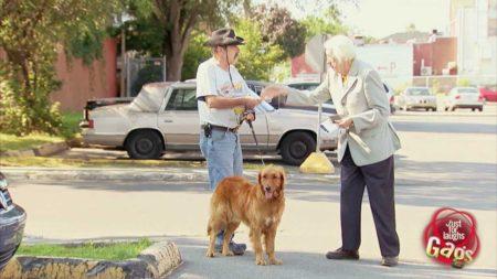 Epic Old Man – Confused Dog Owner