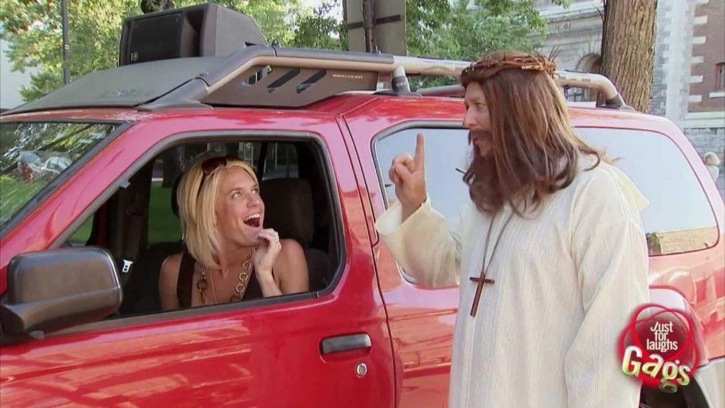 Jesus Starts Car