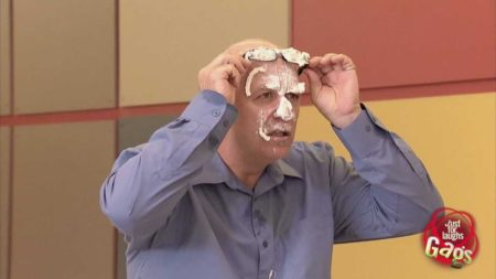 Pie In The Face Gag