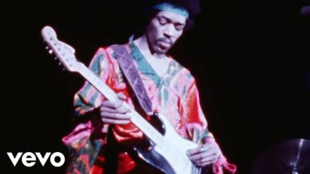 The Jimi Hendrix Experience – Purple Haze