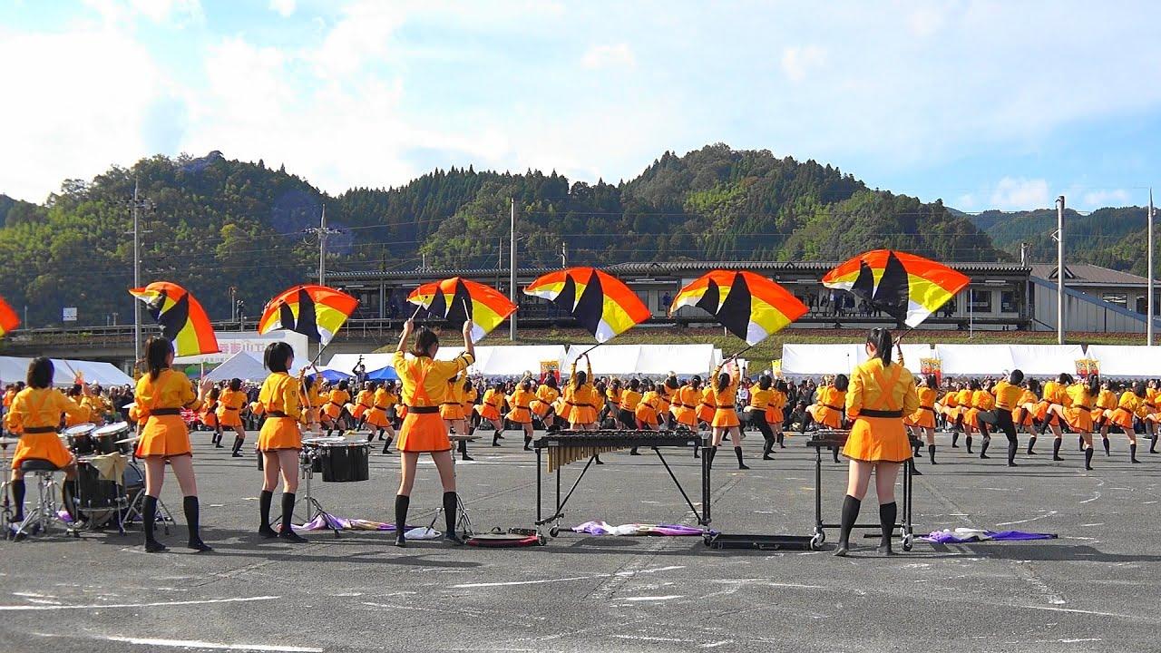 第35回大江山酒呑童子祭りマーチングドリル