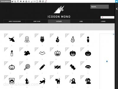ICOOON MONO: 商用利用可能なアイコン素材