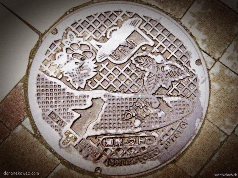 斜里町(北海道)の「フタw」